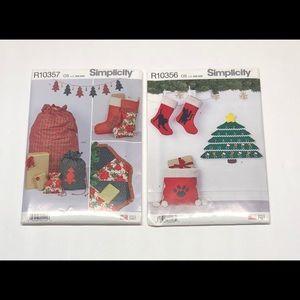 Simplicity Patterns Christmas Decor Crafts